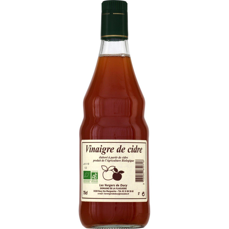 Vinaigre Bio De Cidre Les Vergers De Ducy La Bouteille De 75cl A Prix Vinaigre Bio Et Bouteille