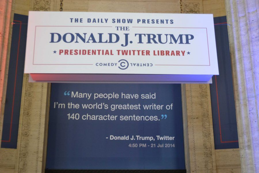 Donald J Trump Twitter Library The Daily Show Outdoor Grand Prix Coing