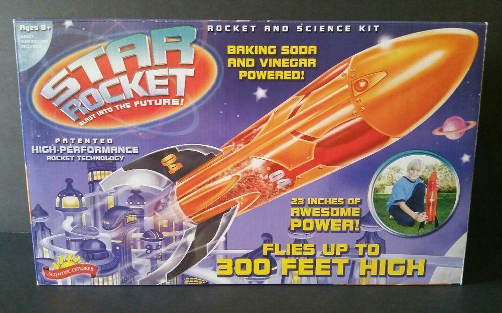 Scientific Explorer Star Rocket Science Kit Physics Experiment Educational Toy #ScientificExplorer