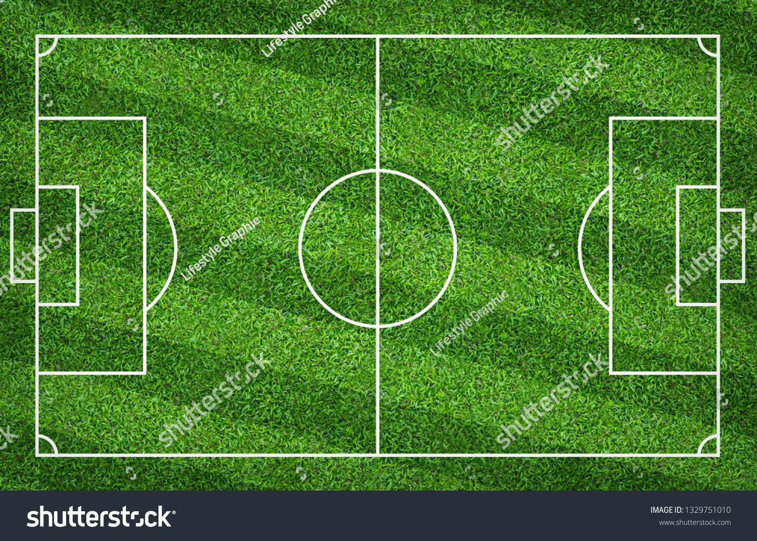Football Field Or Soccer Field For Background Green Lawn Court For Create Sport Game Ad Sponsored Background Green So Soccer Field Football Field Field
