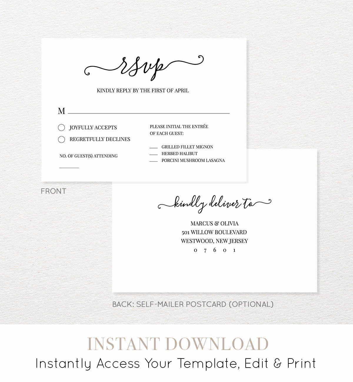 Wedding Rsvp Postcards Template Fresh Wedding Rsvp Card Template We Do Heart Wedding Rsvp Wedding Cards Wedding Response Cards Wedding Rsvp Postcard