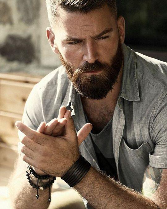 Брутальные мужчины с бородой фото