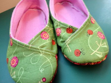 The Pink Slipper Project - Free Slipper Patterns | sewing ...