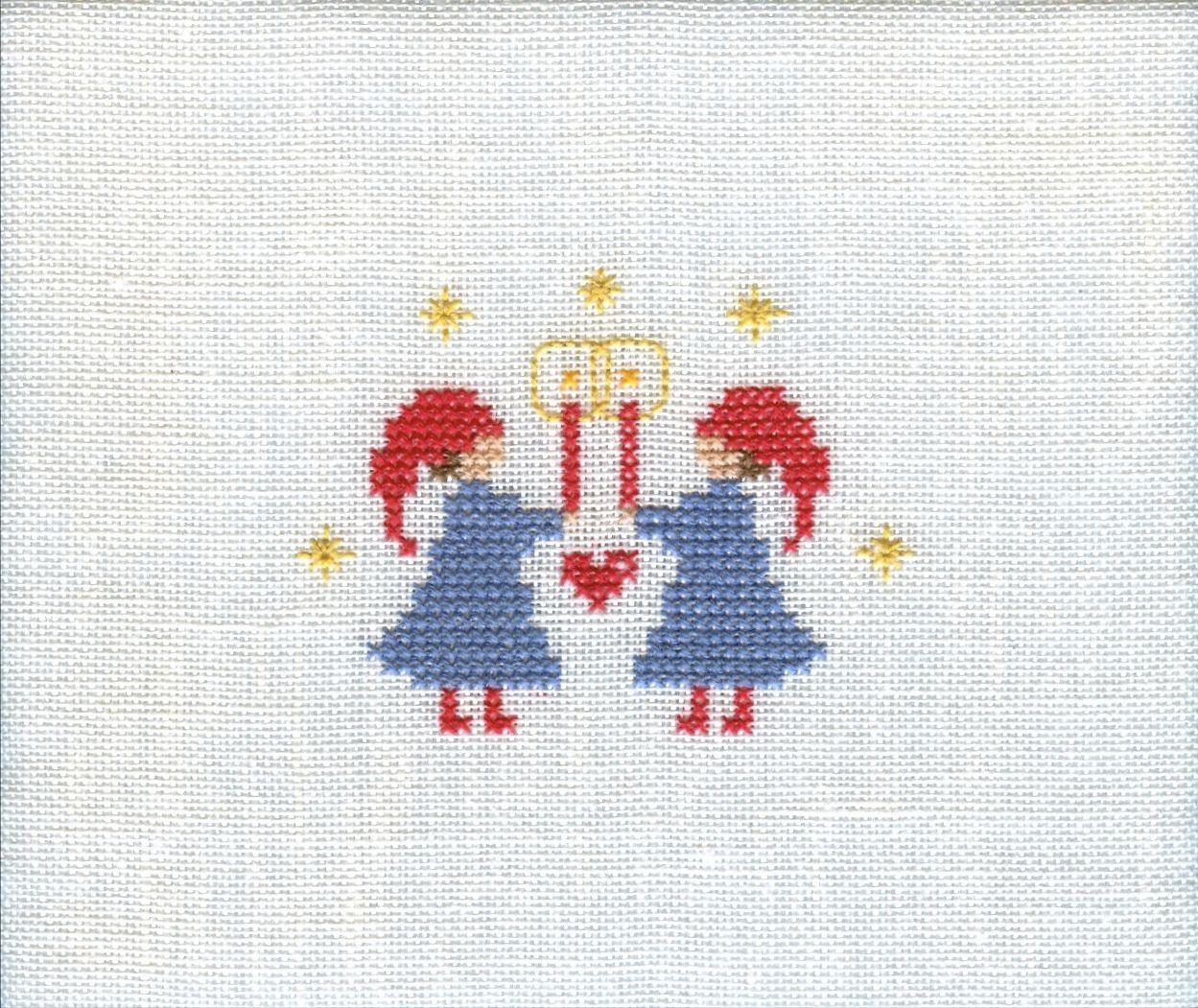 Christmas Peace (Scandinavian Stitches) | Cross Stitch Patterns ...