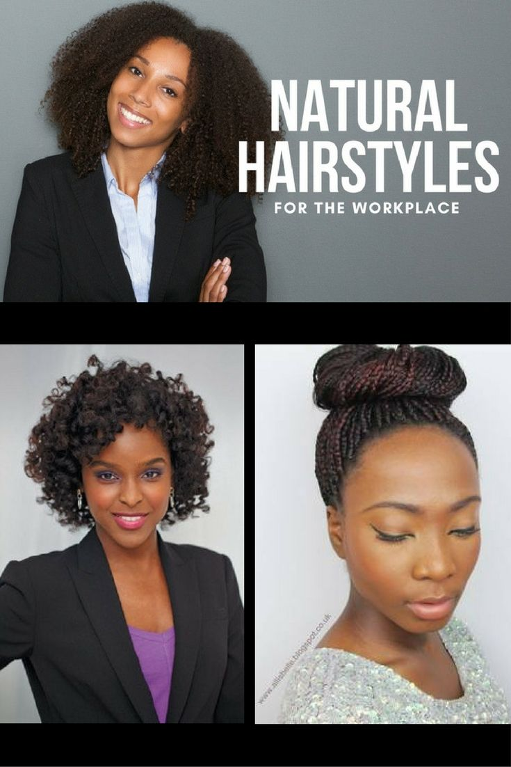 unique and easy professional natural hairstyles for work