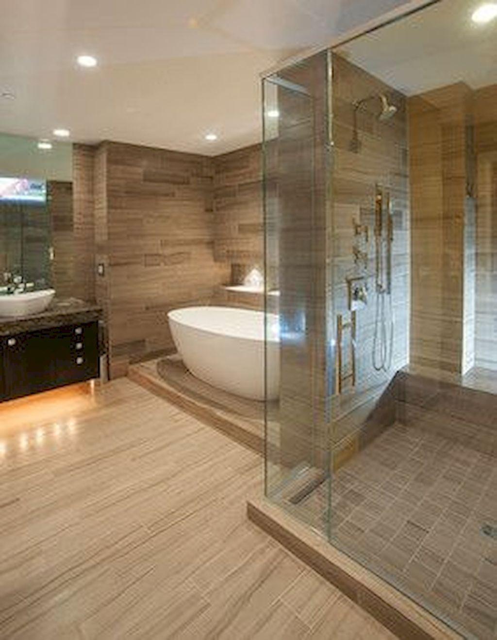 90 Master Badezimmer Deko Ideen In 2020 Modern Master Bathroom Modern Contemporary Bathrooms Contemporary Bathroom Designs
