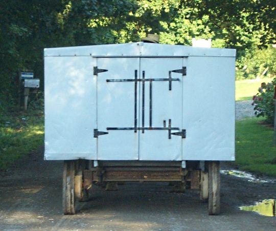 Amish Church Bench Wagon~ Sarah's Country Kitchen ~