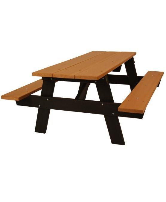 A-Frame Recycled Plastic Picnic Table in 2018 | Lunch at the Picnic ...