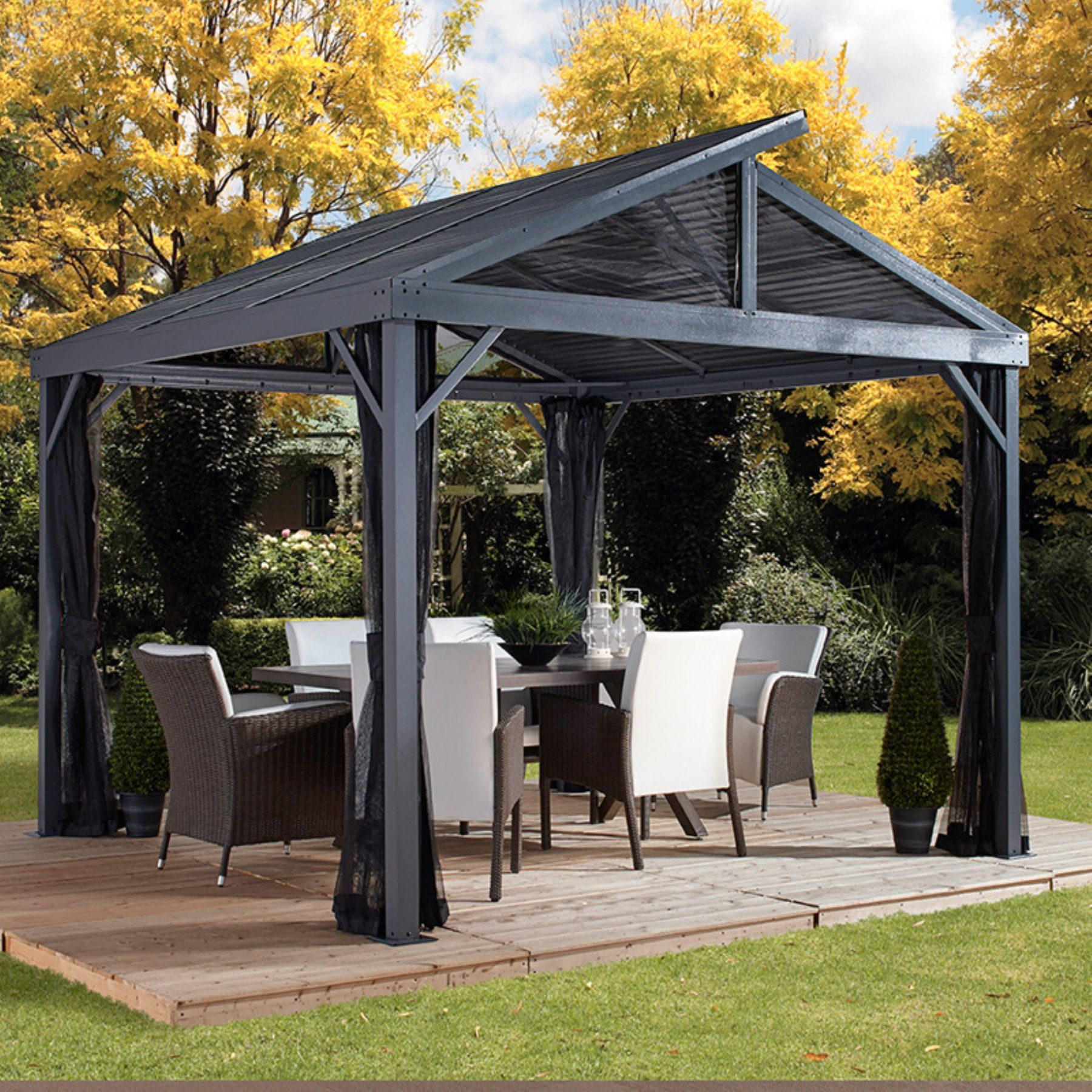 Sojag Inc Sanibel Ii 8 X 8 Ft Gazebo With