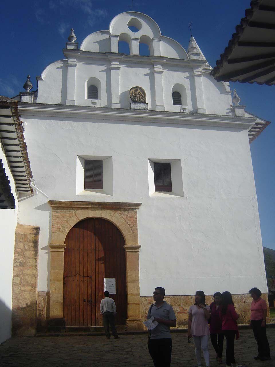 Colonial church at Villa de Leyva,  Boyacá, Colombia