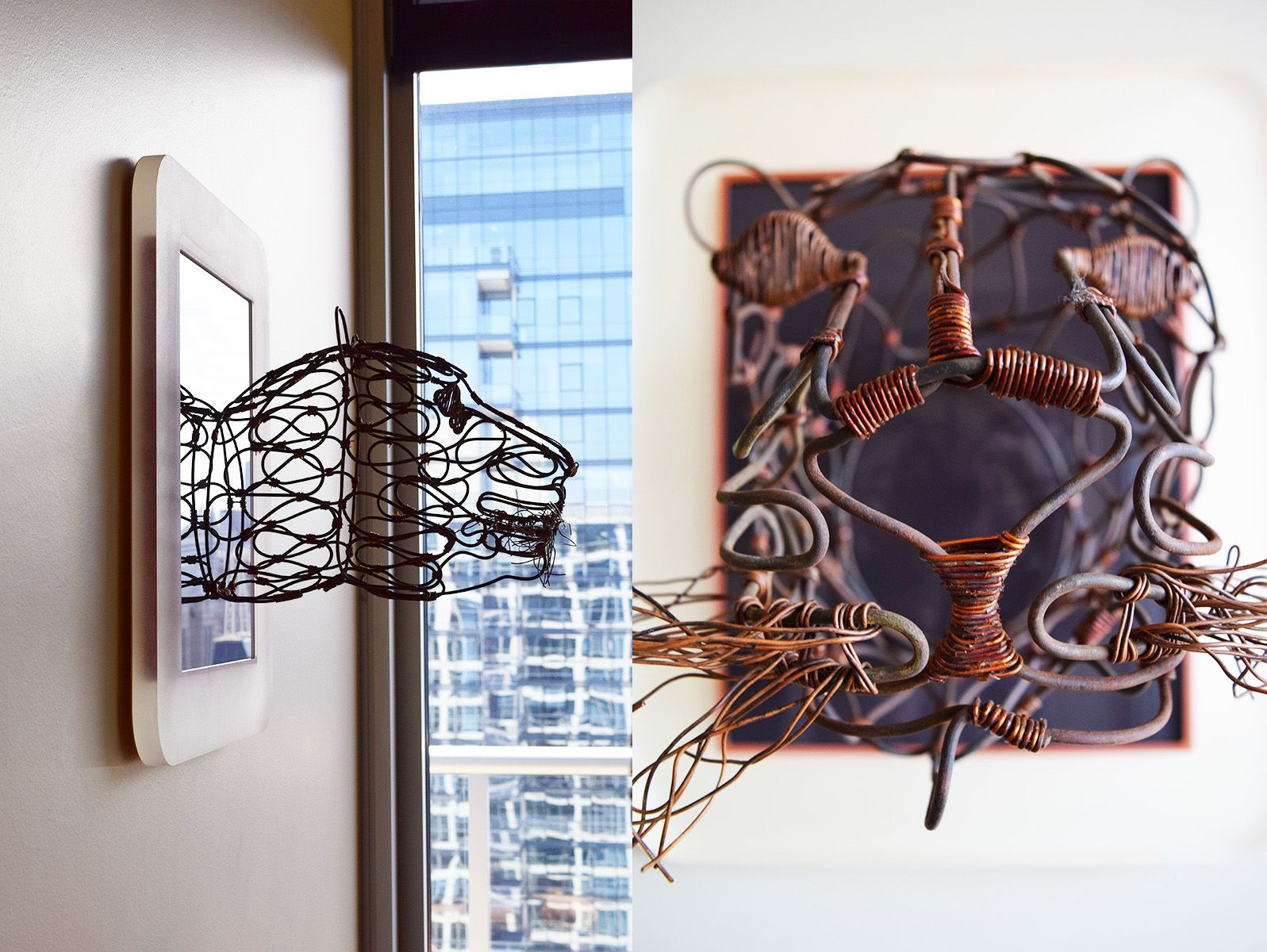 Wire Art Framed Basket Wiring Center Circuitwriter Conductive Pencircuitwriterpenledhookup1 See How We Thought Outsidetheglass To Frame This One Of A Kind Rh Pinterest Com Round Decorative Baskets