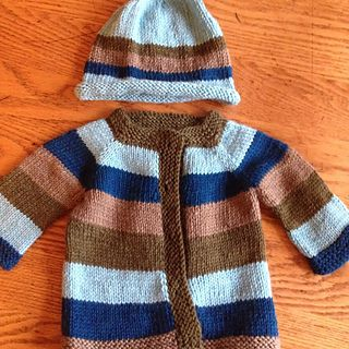 a1e5d73b7 A simple and fuss free baby cardigan
