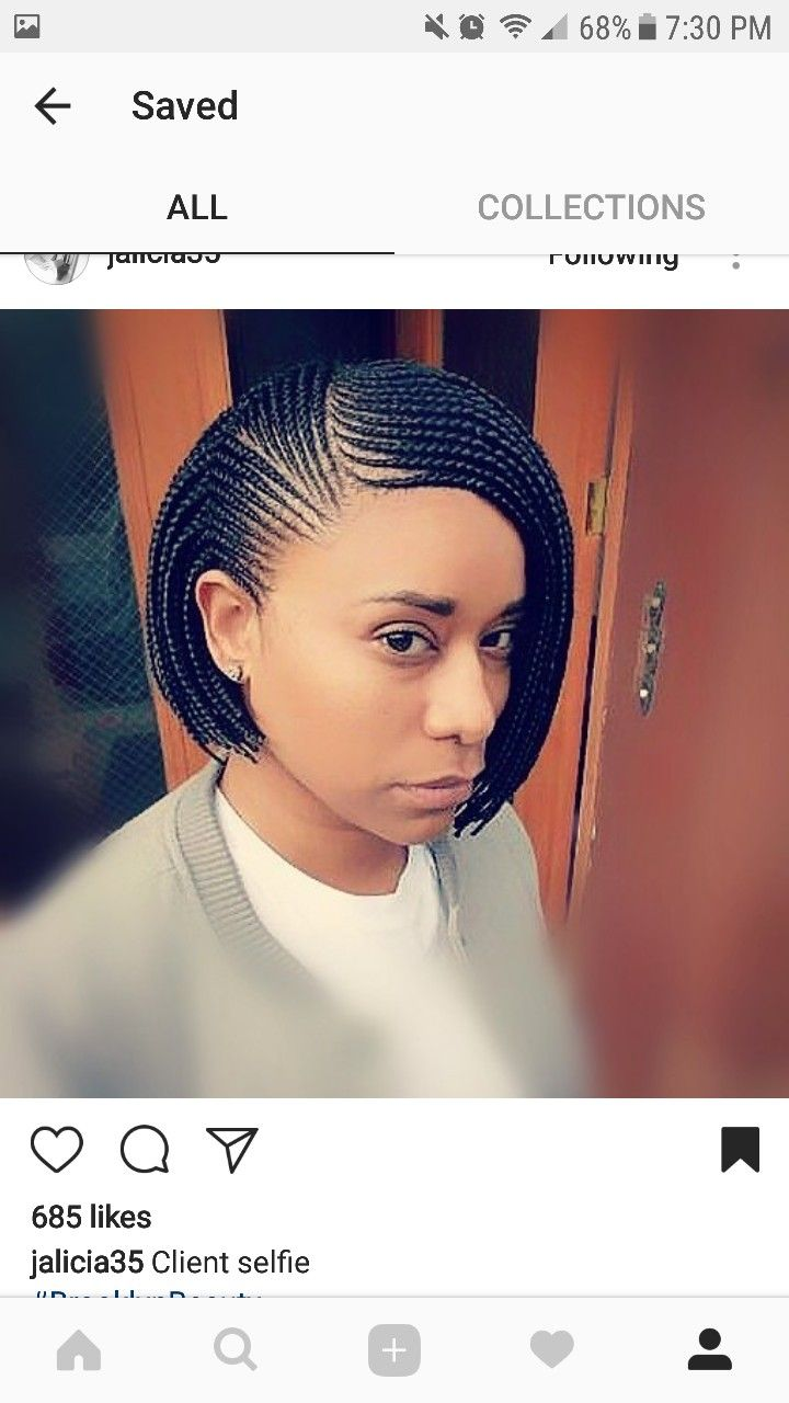 Simple Yet Cute Cornrolls Amp Singles Braids