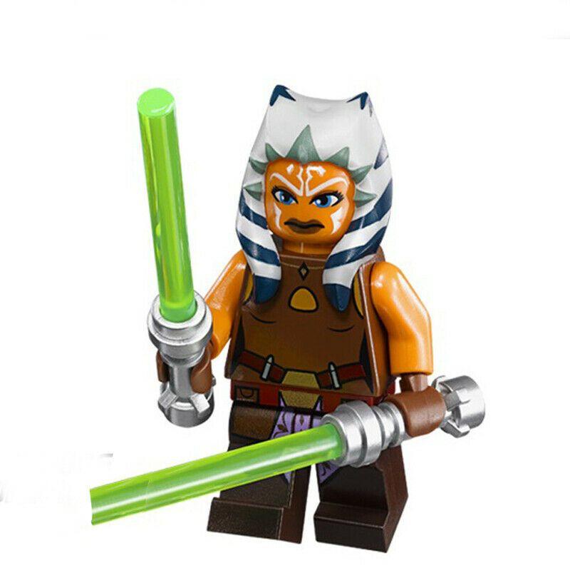 Lego Star Wars Han Solo Darth Vader Obi-Wan Jawa Leia Clone Minifigures Blocks