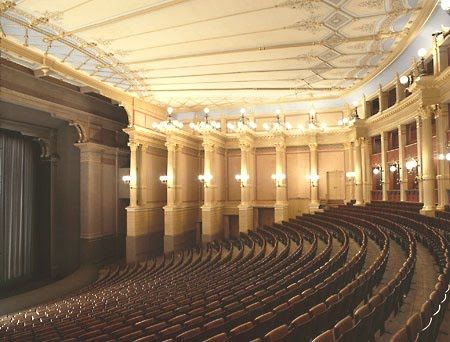 Wagner S Theatre At Bayreuth Is A Great Example Of Democratic Seating In This Type Of Seating There Are No Bad Seats No Partia Bayreuth Wagner Opera House