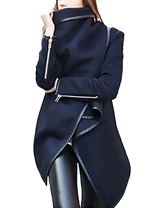 Elegant Hoodys Mantel Festlich Damen Kapuzenpullover 1JTclFK