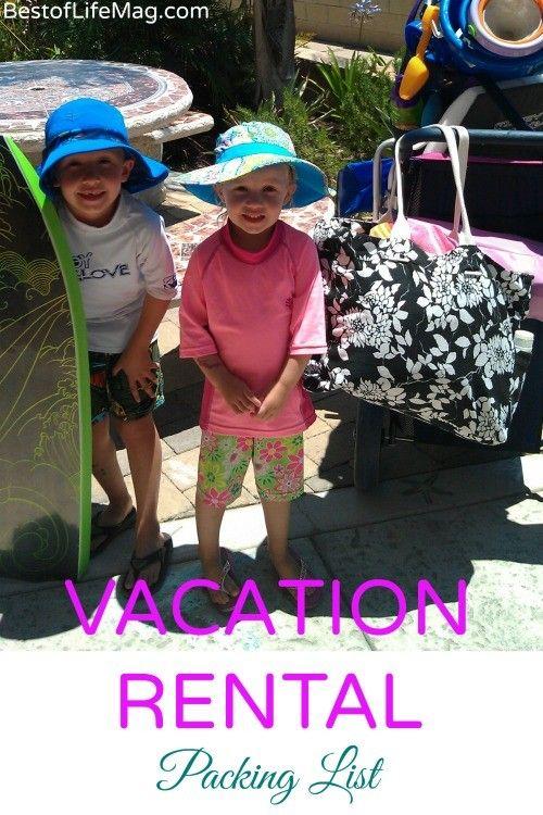 Printable Vacation Rental Packing List Beach Vacation Packing Packing List For Vacation Beach Vacation Packing List