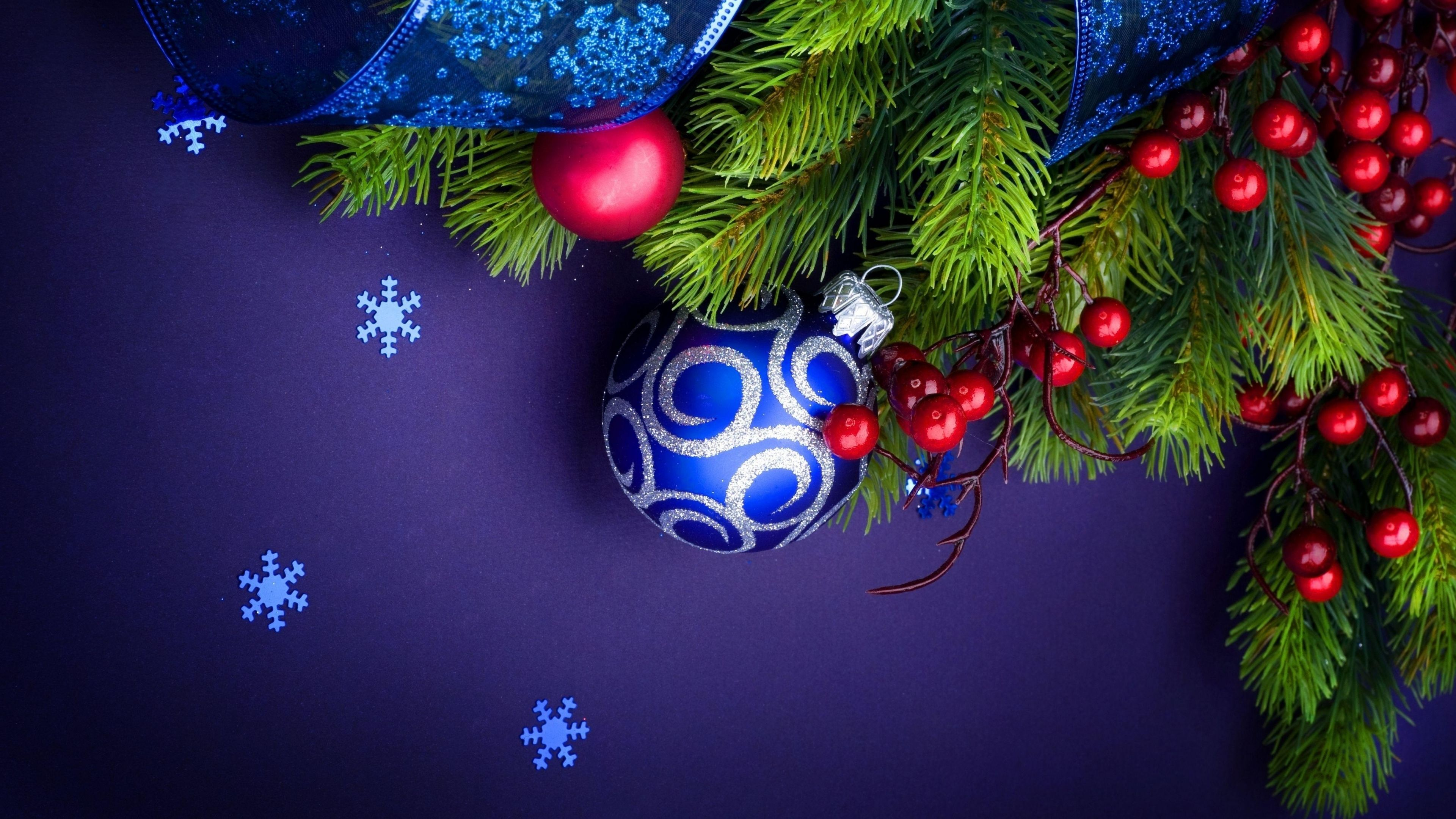 3840x2160 Wallpaper Needles Thread Christmas Decorations Snowflakes Ribbon New Year Merry Christmas Wallpaper Christmas Wallpaper Christmas Wallpaper Hd