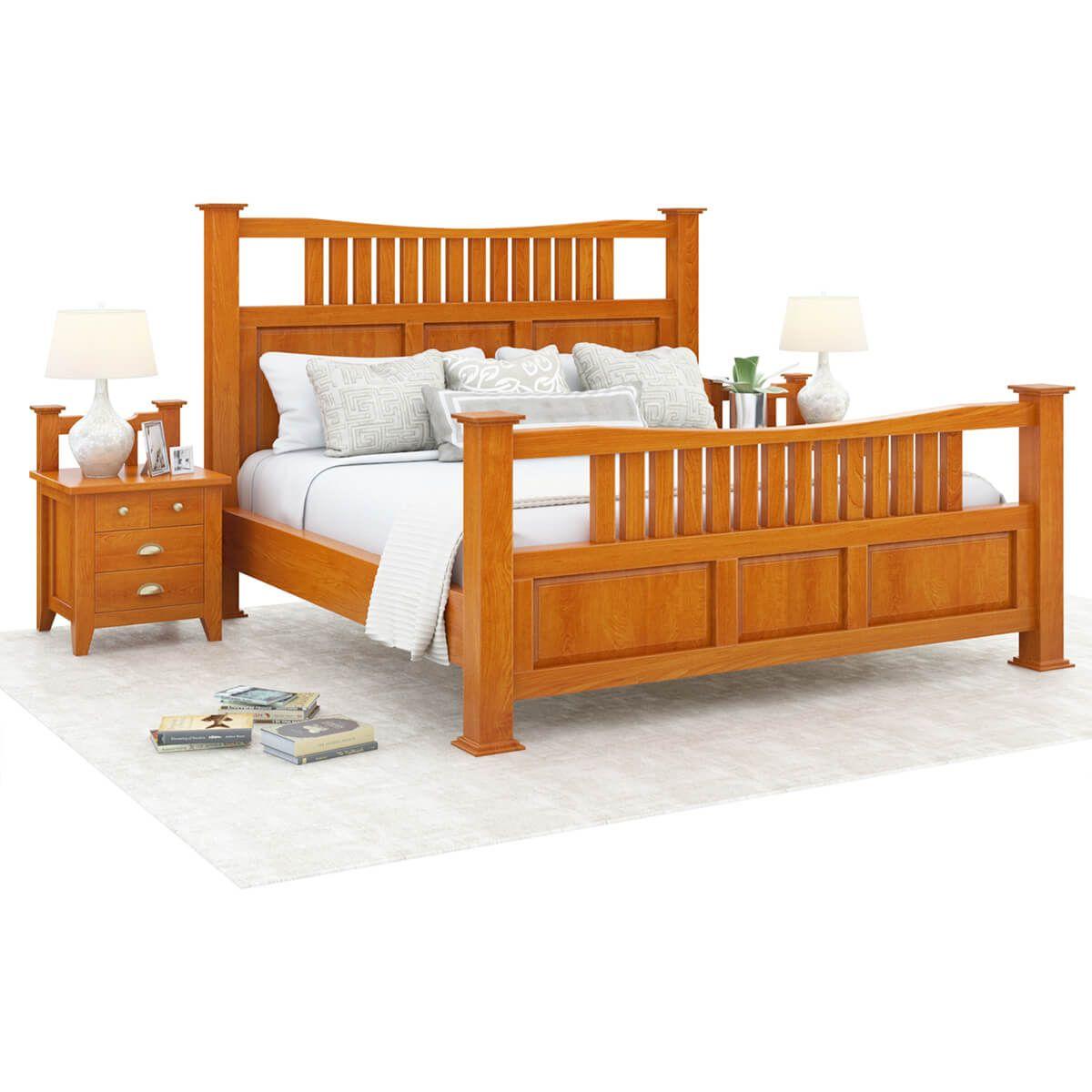 Best Longport Traditional Style Solid Mahogany Wood Platform 400 x 300