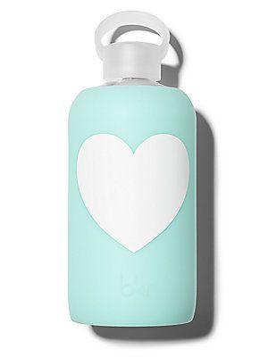 bkr Sheer Baby Aqua Glass Water Bottle/32 oz. - No Color
