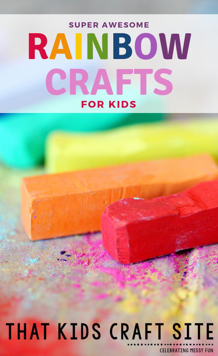 Rainbow Crafts For Kids That Kids Craft Site Rainbow Crafts