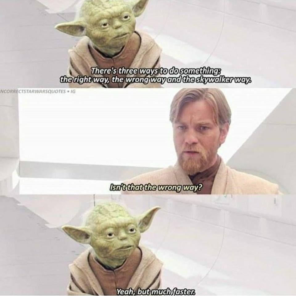 Incorrect Star Wars Quotes [Pics]