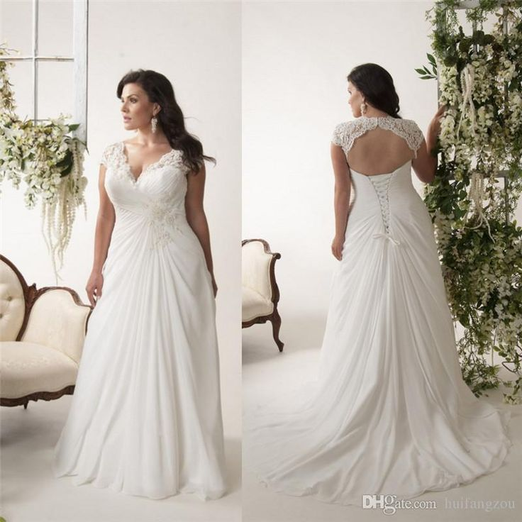 Image result for plus size ivory wedding gowns   Megan Wedding ...