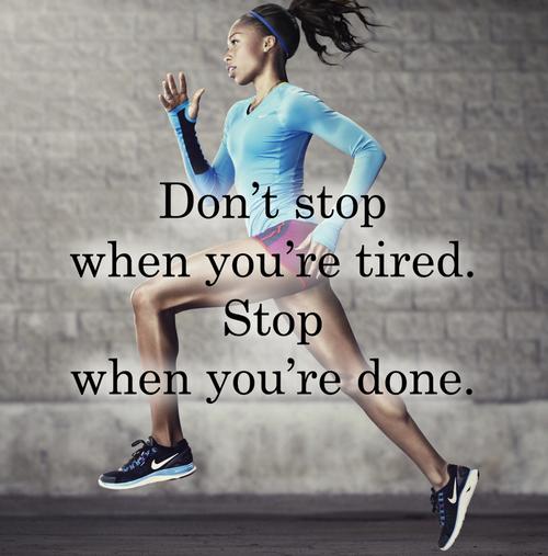 RebelSpirit via Tumblr Track quotes, Running