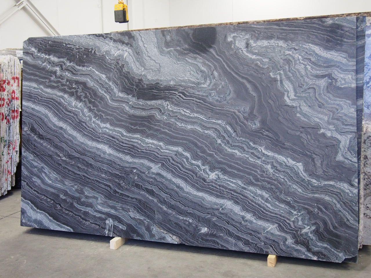 Mezzanotte granite slab sold by milestone marble size for Granite slab dimensions