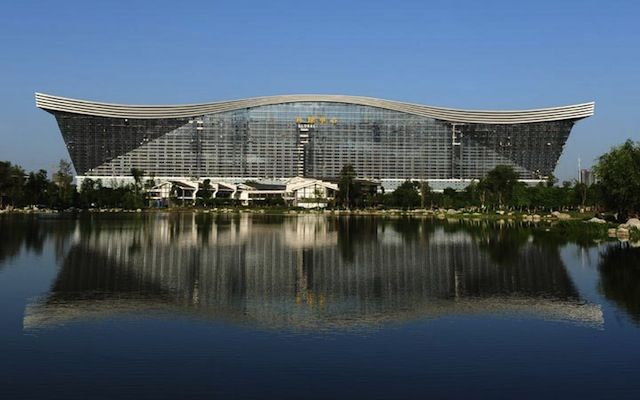 China y el edificio más grande del mundo #arquitectura