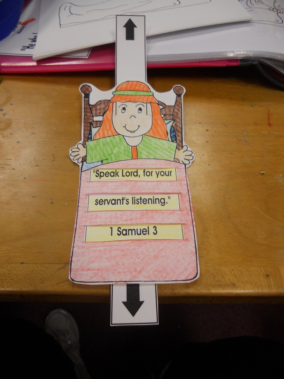 Kids Sunday School Lesson  Samuel