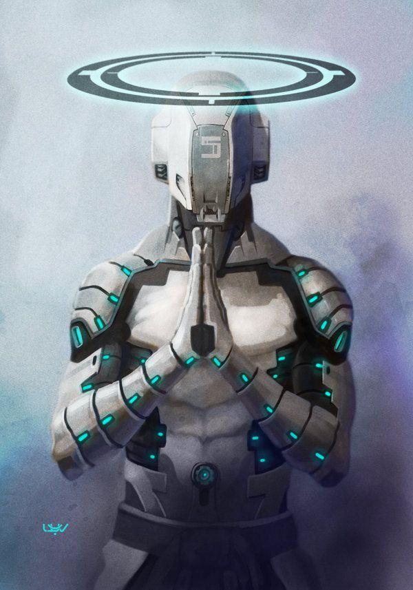 -- Angelus 5 -- by *wyv1 # cyberpunk, robot girl, cyborg ...