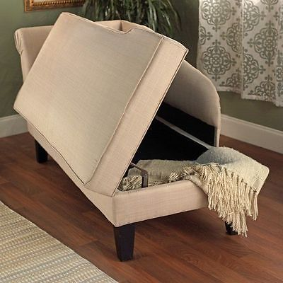 Futon Day Bed Lounger Sofa Ottoman Recliner Storage Chaise