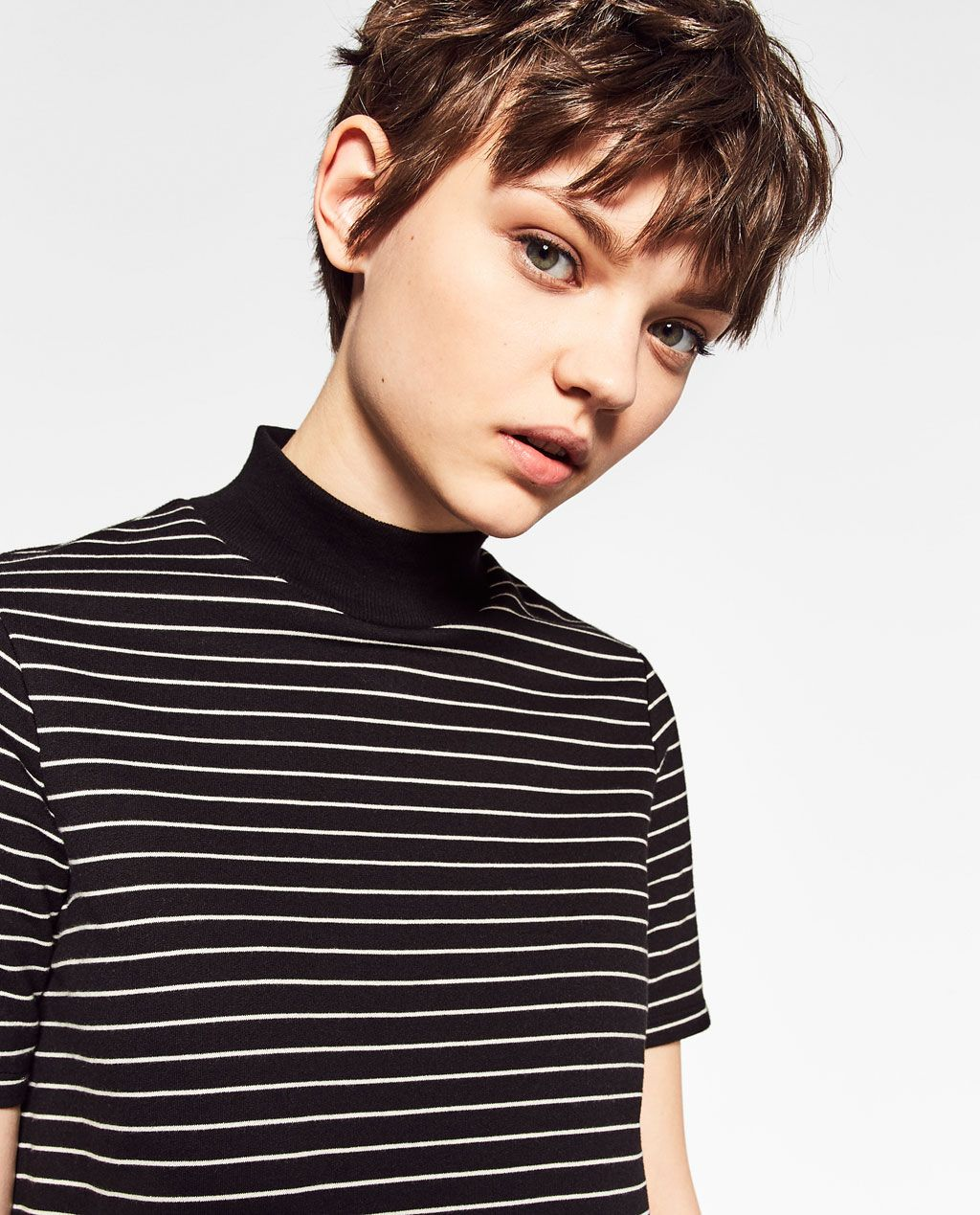 HIGH NECK STRIPED DRESS-COLLECTION-TRF-COLLECTION SS/17 | ZARA United Kingdom