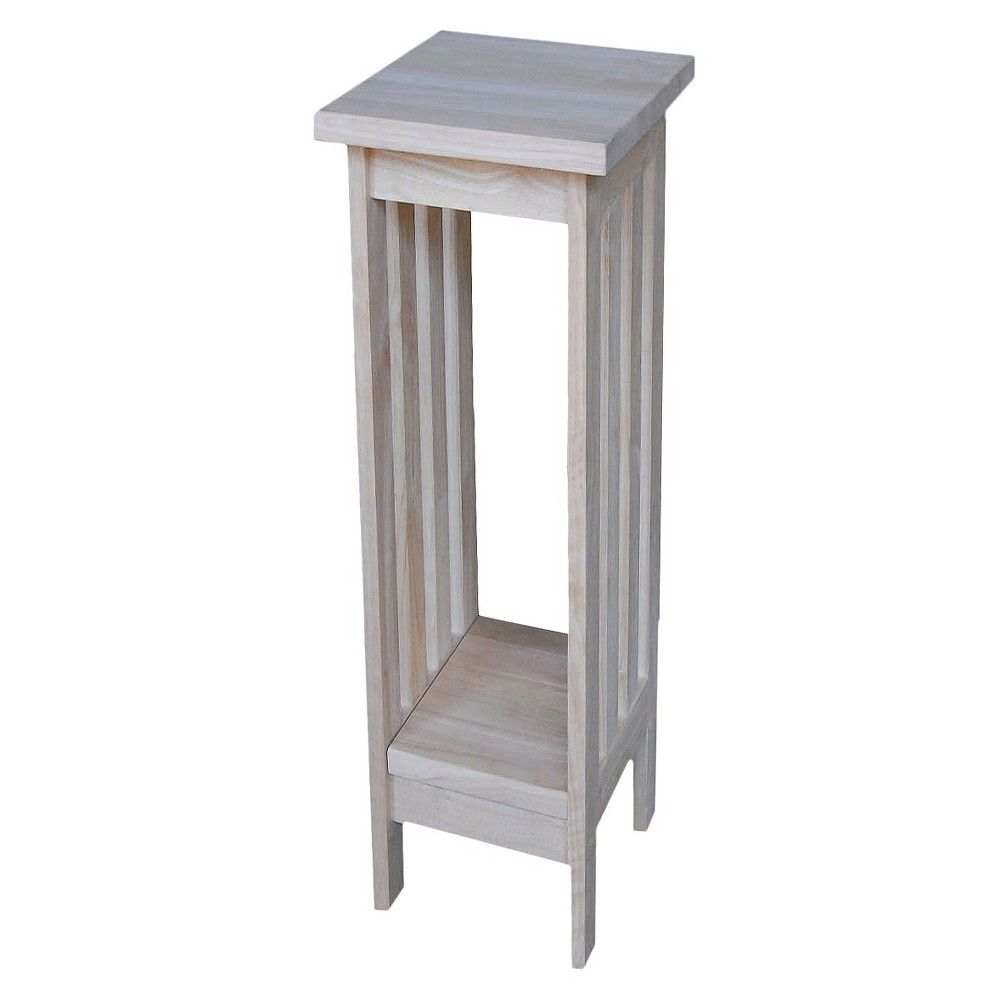 Best Mission Plant Stand Unfinished 24 International 400 x 300