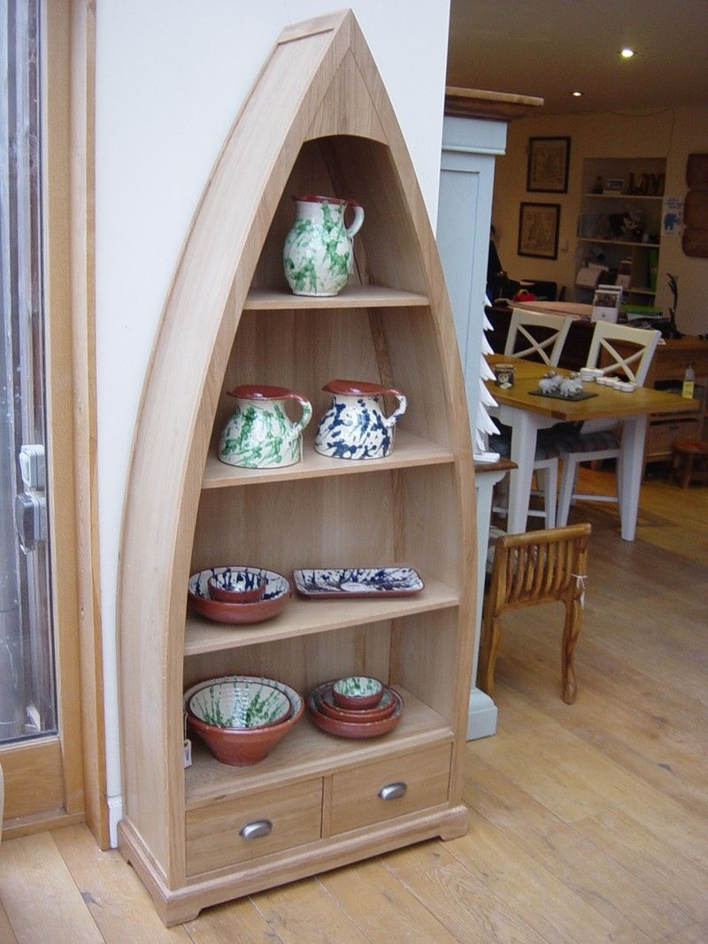 Boat Shaped Bookcase Best Way to Paint Furniture Check