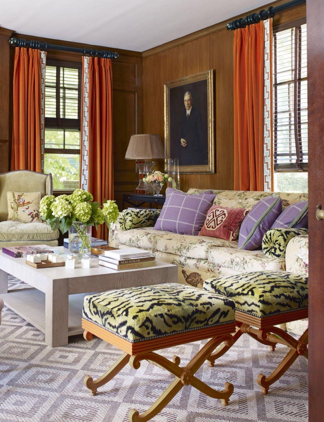 Love The Ottomans  Family Room  Pinterest  Living Rooms Room Adorable Living Rooms With Ottomans Design Ideas
