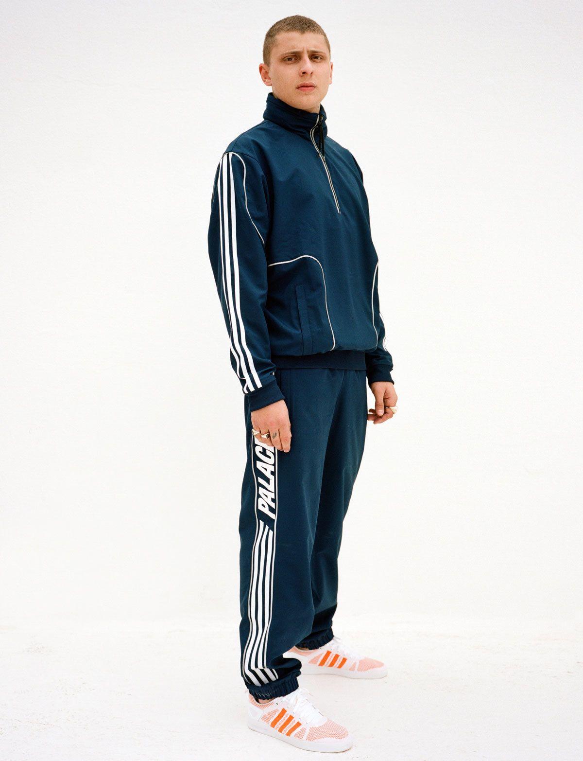 haute couture collection entière survetement adidas trois
