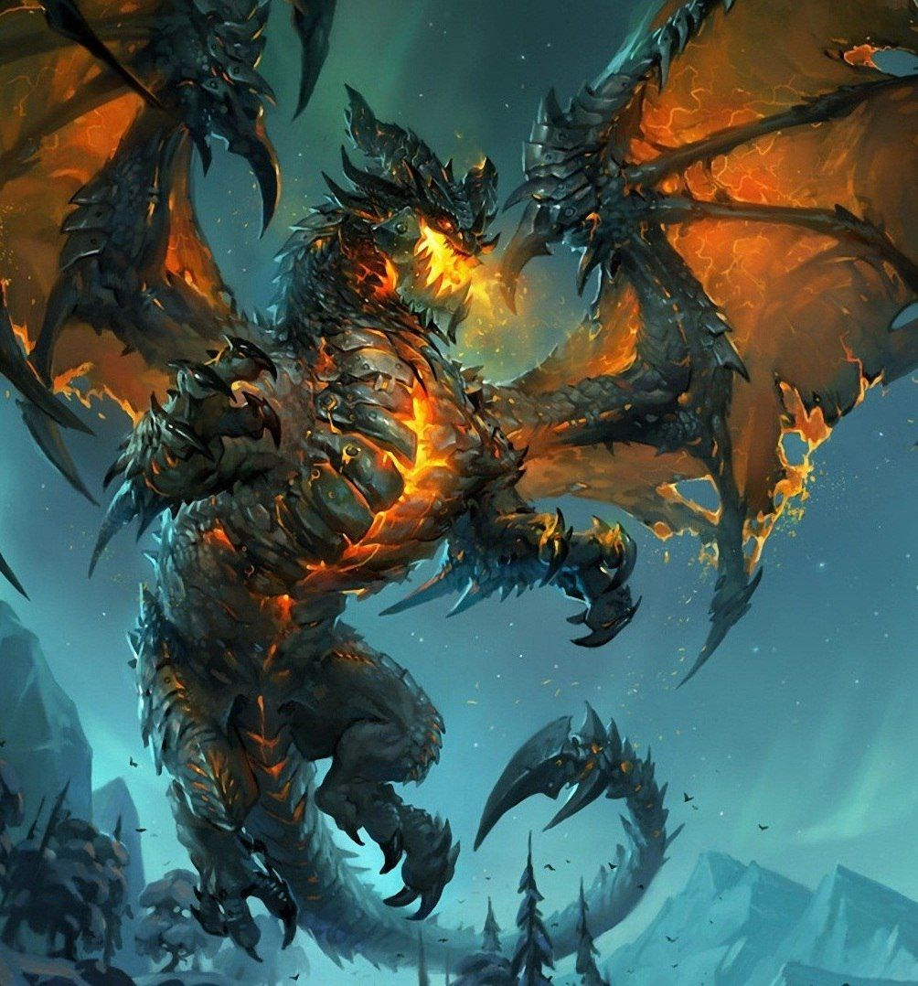 Deathwing Warcraft In 2019 World Of