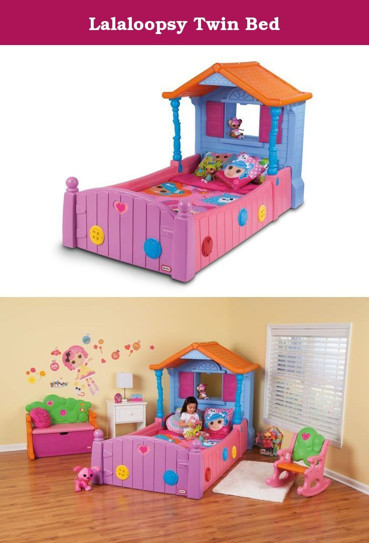 Lalaloopsy Bedroom Lalaloopsy Twin Bed Childrens Furniture From Little Tikes Is