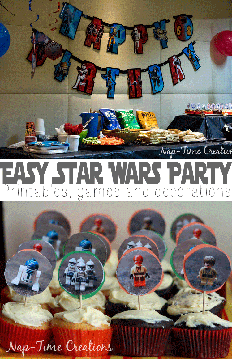 Easy Star Wars Birthday Party Star wars birthday Birthdays and