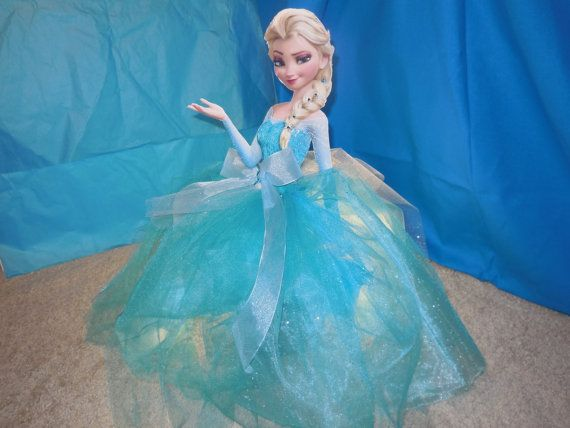 Elsa centerpiece hand made decoration for your by GrunewaldBaby