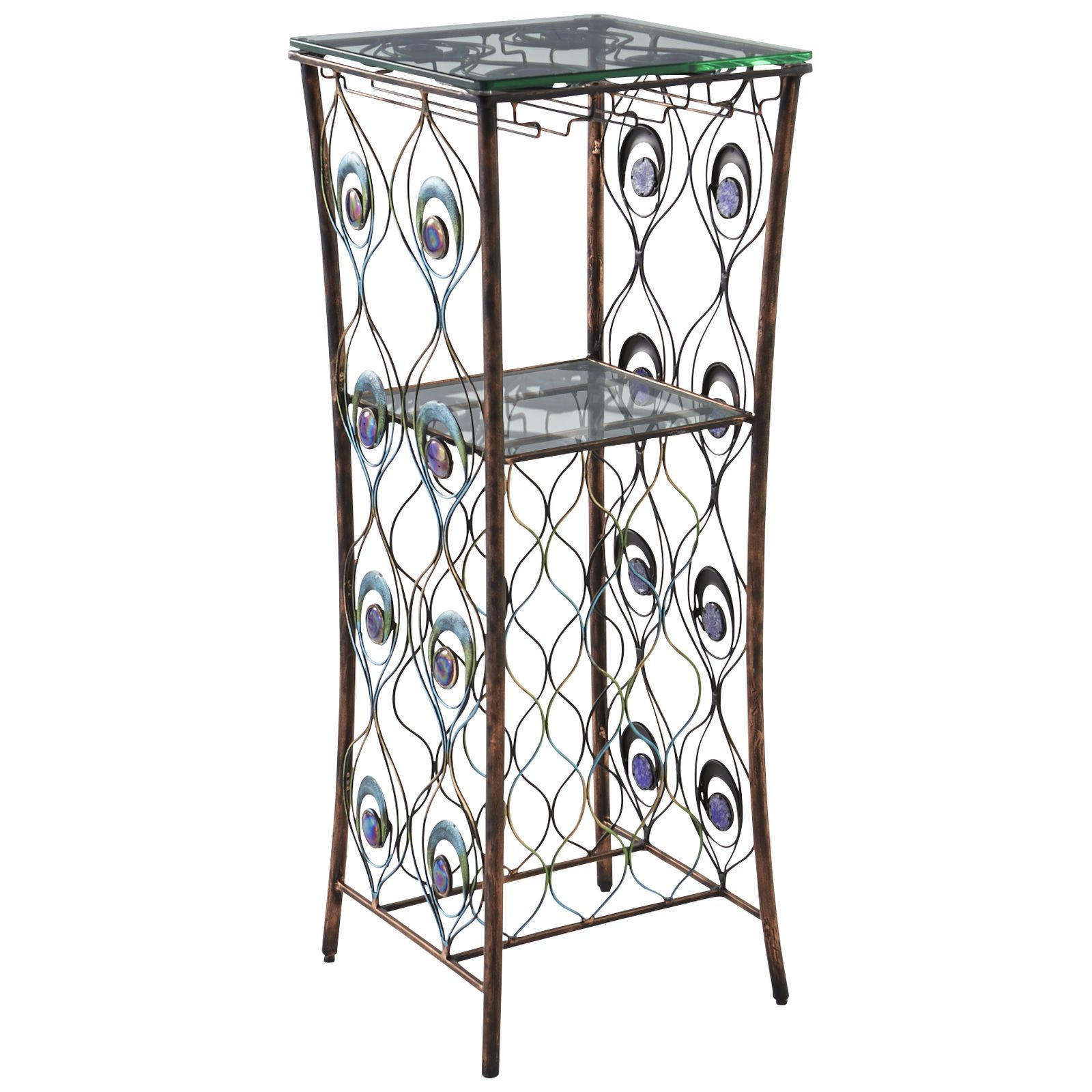 Peacock Wine Rack - Pier 1 Imports