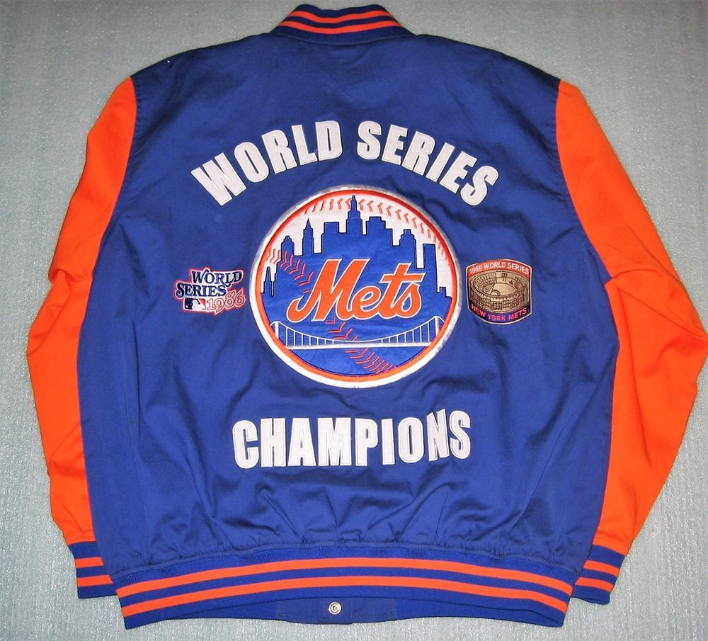New York Mets GIII 69 & 86 World Series Champions Jacket