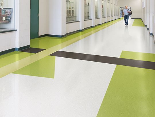 Johnsonite Arcade Tonal Rubber Sheet Flooring Ideal For Education Healthcare Segments Hospital Interior Design Hospital Interior Hospital Design
