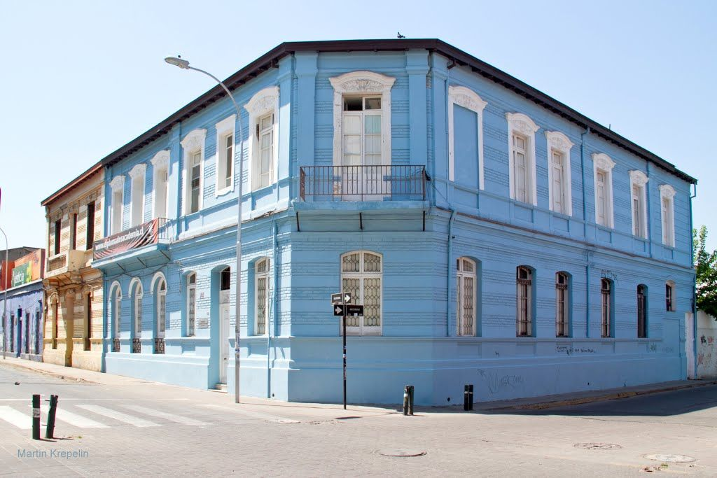 Barrio Brasil. santiago de Chile