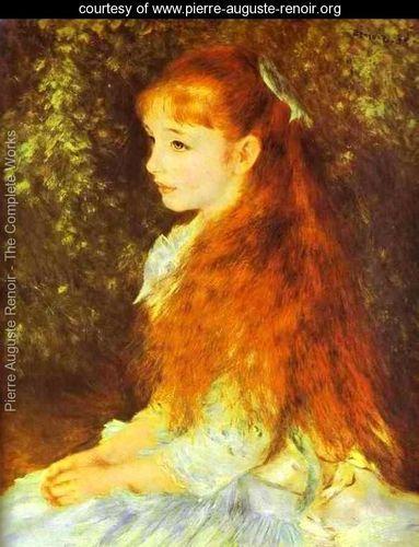 Mlle Irene Cahen DAnversPierre Auguste Renoir