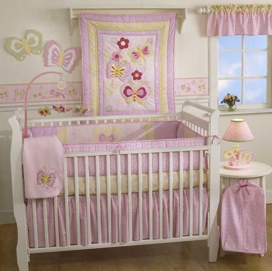 Baby Girl Crib Bedding | Baby Crib Bedding Sets And Decorations Ideas From  Angel Baby Bedding