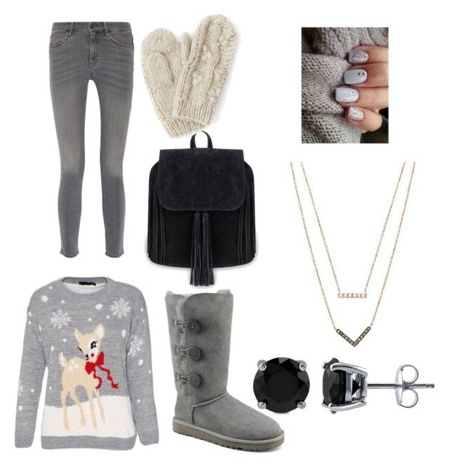 """""""Staying Warm"""" by hidanluver on Polyvore featuring MiH Jeans, UGG Australia, Bibico, BERRICLE and Michael Kors"""