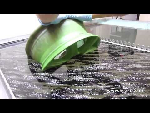 Water Transfer Printing Hydrographics Applying Printed Designs To Three Dimensional Objects Youtube Water Transfer Printing Water Transfer Transfer Print